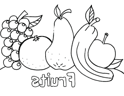 Apple Coloring Pages For Kindergarten At Getdrawingscom Free For