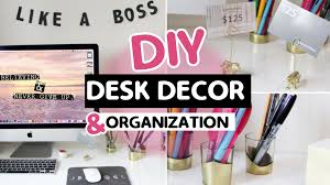 diy desk decor organization ideas ashley ann laz you