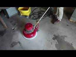 how to remove old paint from concrete