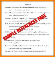 How To Write A Reference Page For A Resume Adorable 4848 How To Format An Apa Reference Page Nhprimarysource