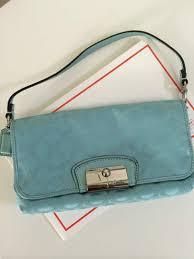 Authentic) Coach Kristin Sateen Op Art Large Wristlet Clutch Wallet ...