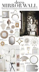 house nice mirror collage wall decor 26 deco vintage design ideas of sun mirror collage wall