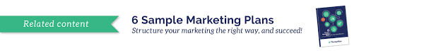 marketing goal exles for small
