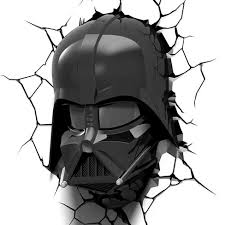 on star wars wall art target with star wars 3d wall night led light darth vader helmet target