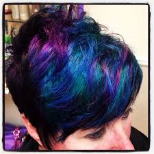 If I Were Bravepeacock Coloring On Short Hair Inspiring Ideas