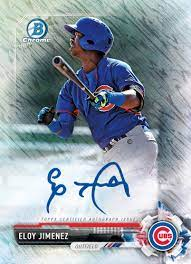 Duke university under 'stay in place' order amid campus outbreak, cdc says 3 feet between students is ok. Hottest Eloy Jimenez Baseball Cards On Ebay
