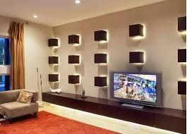 unique lighting ideas. Unique Ambiance Lighting Ideas For An Empty Wall Space N