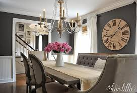 Dark Gray Dining Room Paint Colors French Dining Room Benjamin Delectable Paint Dining Room Table Property