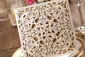 amazon com wishmade 50x beige laser cut square wedding Amazon Laser Cut Wedding Invitation amazon com wishmade 50x beige laser cut square wedding invitations cards with lace flowers engagement birthday bridal shower baby shower graduation Laser-Cut Wedding Invitation Template