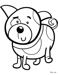 Preschool children (up to age 4) will most likely like: The Best Free Dog Coloring Pages Skip To My Lou