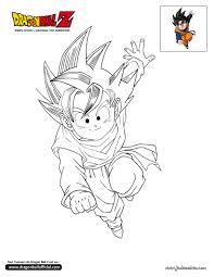 Coloriage Dragon Ball Z Dessin Anim Pinterest Dragon