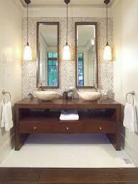 bathroom pendant lighting ideas. interesting ideas trendy bathroom photo in toronto with a vessel sink in bathroom pendant lighting ideas t