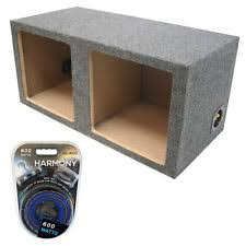 kicker 12 sub square kicker dual 12 sealed l3 l5 l7 subwoofer box bass sub enclosure amp kit