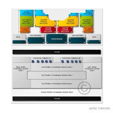 Aztec Theatre Seating Chart San Antonio Aztec Theatre Tickets