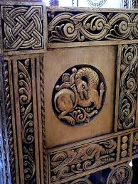 furniture motifs. Byzantine Motifs Are Featured On Queen Marie Of Roumania\u0027s Gilded Wood Furniture Circa 1900 To 1910