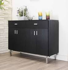 black sideboards and buffets.  And Amazoncom  IoHOMES Knox 2Doors Buffet Black Kitchen Islands U0026 Carts To Sideboards And Buffets