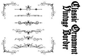 Our free svg cut files are a file type that can be scaled to use with cricut, silhouette and other svg cutting machines. Classic Ornament Frame Vintage Border Graphic By Anomali Bisu Creative Fabrica In 2020 Ornament Frame Vintage Borders Classic