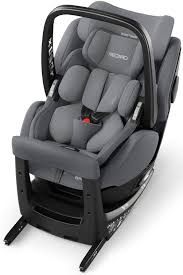 recaro zero 1 elite i size aluminium grey reboard child car seat with infant carrier