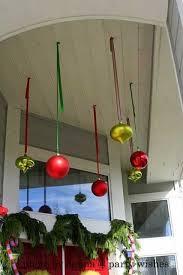 Hanging porch ornaments