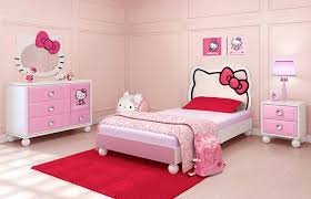 girls pink bedroom furniture. Lovely Hello Kitty Themed Kids Bedroom Furniture For Girl Ideas With Sweet Pink Wardrobe Girls S