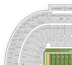 Download Seat Number Neyland Stadium Seat Map Full Size