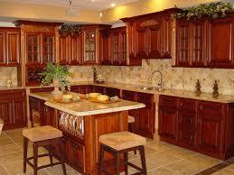 Red Floor Tiles Kitchen Cherry Kitchen Cabinets Painted White Grey Kitchen Cherry