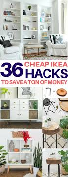 35+ Amazing Ikea Hacks to Decorate on a Budget. Room Ideas BedroomLiving ...
