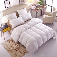 soft cotton 95 goose down comforter soft warm queen king size high quality quilt duvet hypo allergenic bedroom four seasons goose down comforter high