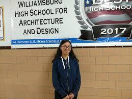 Williamsburg School For Architecture And Design Jessica Juarez Class Of 2020