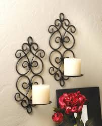 Small Picture Wall Candle Holders Rustic Sconce Candledecorative Sconces For