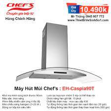 Máy Hút Mùi Chefs EH-Caspia90T | Tổng Kho Bếp Nhập Khẩu Chính Hãng