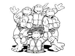Free Ninja Turtle Coloring Pages Elegant Ninja Turtle Color Pages