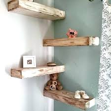diy floating tv units corner shelf shelves designs to use every inch the space