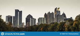 Piedmont Park Concert Seating Chart A View Of The Midtown Atlanta Skyline From The Nostalgic