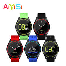 AIYISI <b>V9 smart watch</b> touch screen <b>Bluetooth</b> support SIM and TF ...