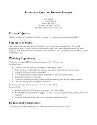 Resume Format Objective How To Write A Career Objective 100 Resume