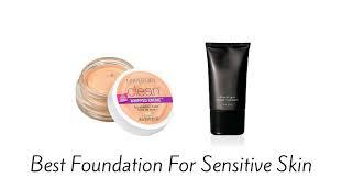 best foundation for sensitive skin of 2017