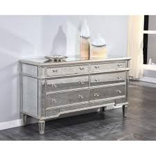 mirrored dresser. florentine mirrored dresser