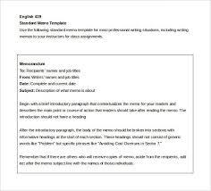 Internal Memo Samples Internal Memo Templates 15 Free Word Pdf Documents Download