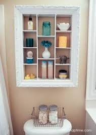 Old picture frame ideas Organizer Repurpose An Old Picture Frame Into An Over The Toilet Storage Unit Frame Shelf Pinterest 555 Best Repurposed Frames Images In 2019 Christmas Time Merry