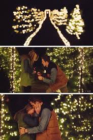 Christmas Light Proposal This Is The Most Epic Christmas Proposal Ever Christmas