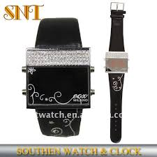 silicone led digital watch leather band diamond brezel watch led silicone watch led led digital watch product on alibaba com