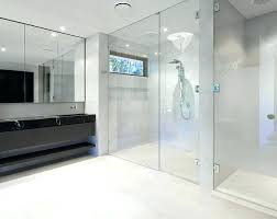 shower glass panels wall for