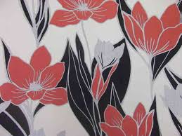 Red Flower Wallpaper A S Creation Cream Red Flower Wallpaper Decorating Centre In