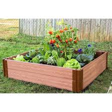 frame it all raised garden bed. Beautiful Garden Frame It All Classic Sienna Raised Garden Bed 4u0027 X 11u201d Intended I