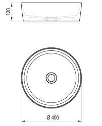 <b>Раковина 40х40 см Ravak</b> Uni XJX01140001 (арт. XJX01140001 ...