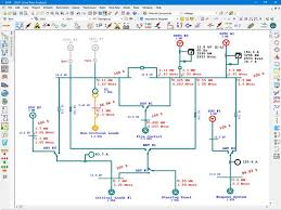 marine electrical diagram electrical single line diagram etap small boat electrical systems at Boat Electrical Diagrams
