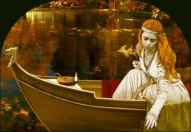 Image result for lady of shalott