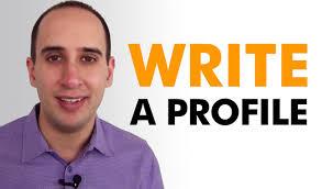 How To Write A Profile Marketing Strategies How To Write A Company Profile Youtube