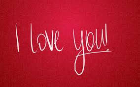 simple i love you wallpaper image